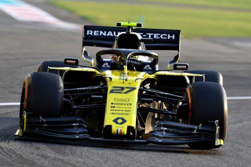 Nico Hulkenberg Abu Dhabi Actie 2019