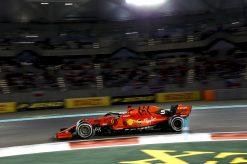 Sebastian Vettel Abu Dhabi Actie 2019