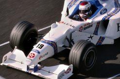 Jos Verstappen Stewart Frankrijk actie foto 1998