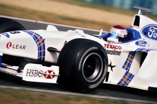 Jos Verstappen Stewart GP Hongarije actie foto 1998