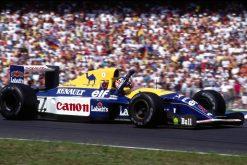 Nigel Mansell Winnaar GP Duitsland 1992
