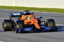 Lando Norris, McLaren F1 Test 2020