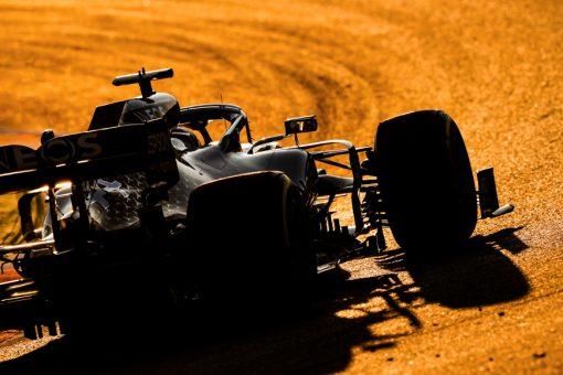 Lewis Hamilton, Mercedes F1 Test 2020