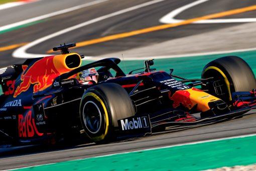 Max Verstappen, Red Bull Racing F1 Test 2020