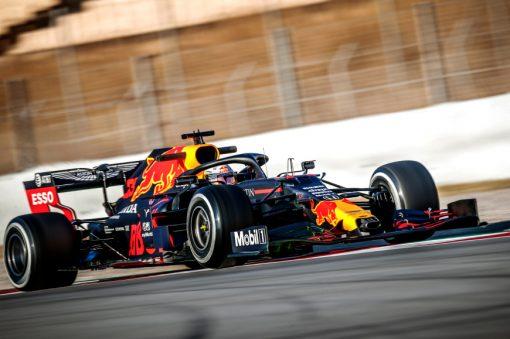 Max Verstappen Red Bull Racing F1 Test 2020