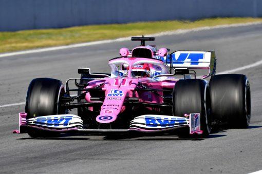 Sergio Perez, Racing Point F1 Test 2020