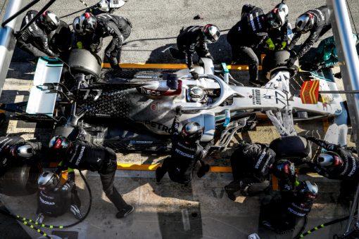 Valtteri Bottas, Mercedes F1 Test 2020