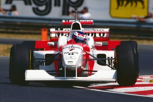 Mika Hakkinen McLaren GP Hongarije 1996