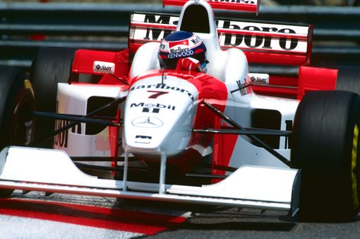 Mika Hakkinen McLaren GP Monaco 1996