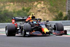 Alex Albon Red Bull Racing Vrije Training GP Hongarije 2020