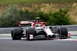 Antonio Giovinazzi Alfa Romeo Vrije Training GP Hongarije 2020