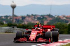 Charles Leclerc Ferrari Vrije Training GP Hongarije 2020