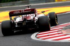 Kimi Raikkonen Alfa Romeo Vrije Training GP Hongarije 2020