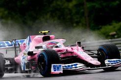 Lance Stroll Racing Point Vrije Training GP Hongarije 2020