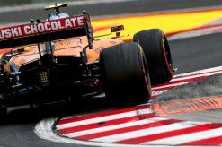 Lando Norris McLaren Vrije Training GP Hongarije 2020