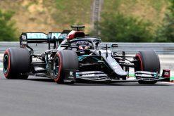 Lewis Hamilton Mercedes Vrije Training GP Hongarije 2020