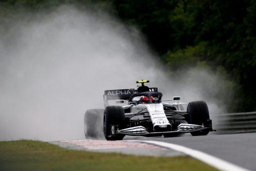 Pierre Gasly Alpha Tauri Vrije Training GP Hongarije 2020