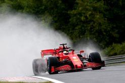 Sebastian Vettel Ferrari Vrije Training GP Hongarije 2020